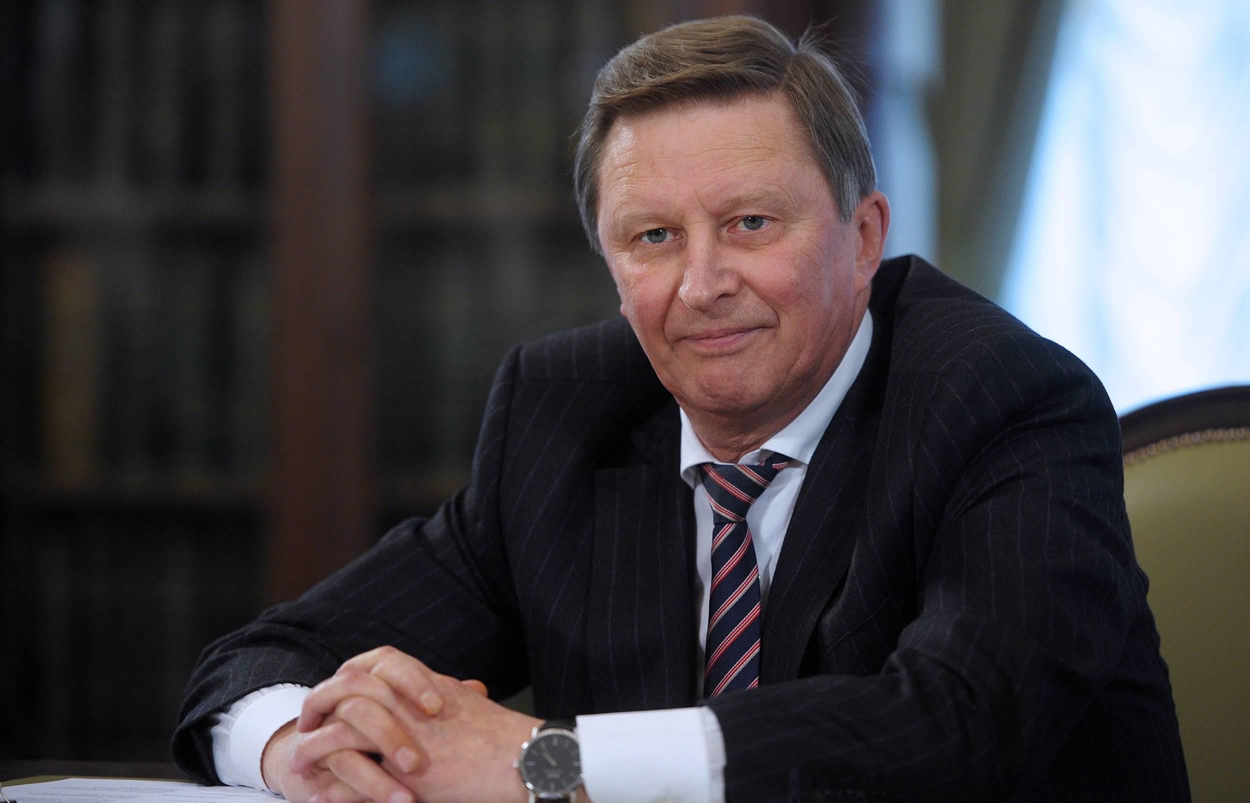Путин уволил Сергея Иванова с должности главы Администрации президента