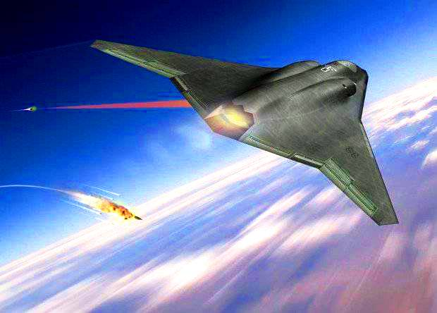 Future stealth bomber